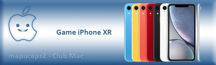Gamme iPhone XR